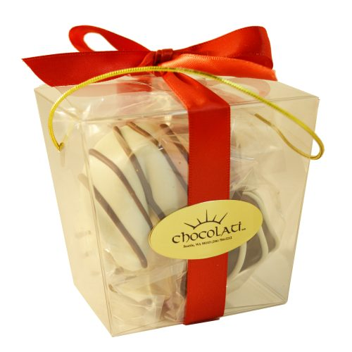 Chocolate Dipped Fortune Cookies – 4pc