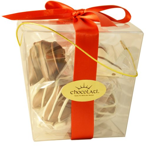 Chocolate Dipped Fortune Cookies – 8pc