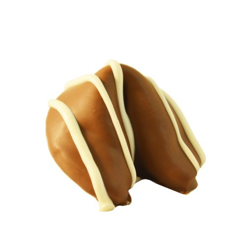 Milk Chocolate Dipped Fortune Cookie