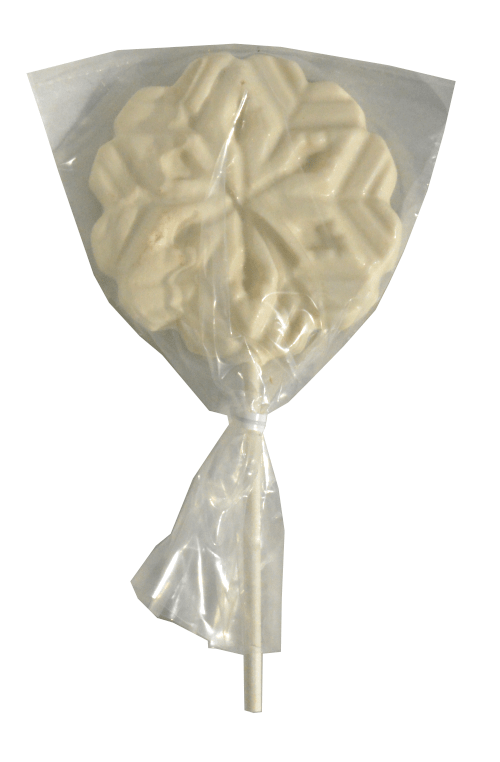 Chocolate Snowflake Pop